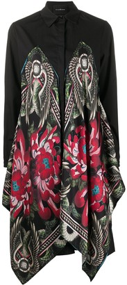 John Richmond Asymmetric Embroidered Dress