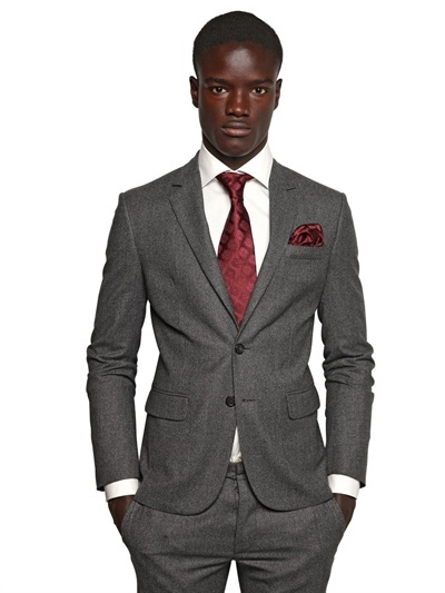 DSquared Wool Houndstooth Tokyo Suit
