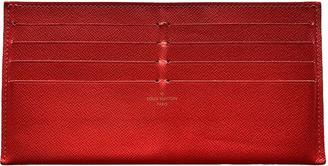 Louis Vuitton Burgundy Leather Purses, wallets & cases