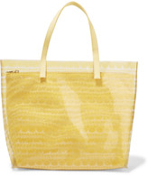 RED Valentino Printed PVC and canvas tote