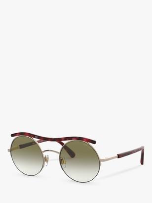 Giorgio Armani AR6082 Women's Round Sunglasses