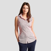 Thomas Pink Sasha Sleeveless Stripe Shirt