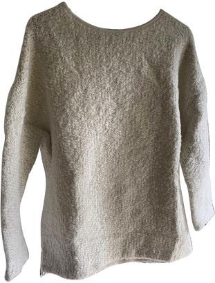Tara Jarmon White Cashmere Knitwear