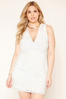 Forever 21 FOREVER 21+ Plus Size Lace Sheath Dress