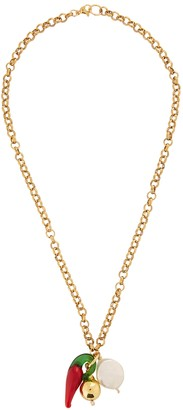 Sandralexandra Chunky chain gold-plated necklace