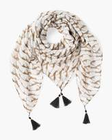 Chico's Cheetah Whimsy Scarf