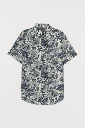 H&M Regular Fit Patterned Shirt