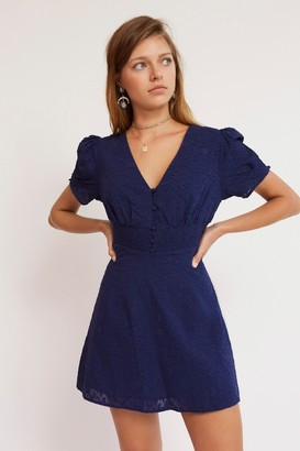 Finders Keepers SORAYA MINI DRESS Navy