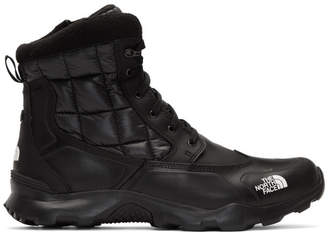 The North Face Black ThermoBall Zipper Boots