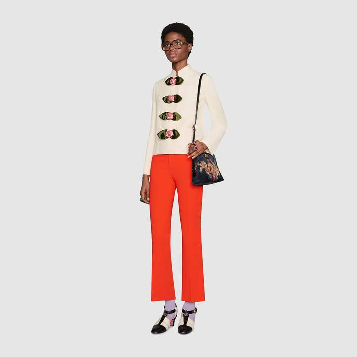 Gucci Viscose bootcut pant