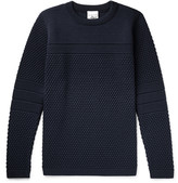 S.n.s. Herning - Torso Textured-knit Wool Sweater