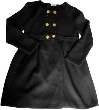 Moschino Black Wool Coat for Women
