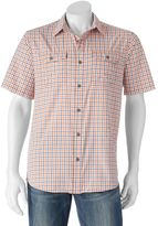 Columbia Big & Tall Glen Meadows Gingham Button-Down Shirt