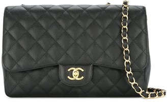 Chanel Pre-Owned 2009-2010 double chain shoulder bag