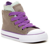 Converse Chuck Taylor All Star Zipback Hi Top Sneaker (Little Kid)