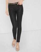 White House Black Market Coated Skinny Jeans