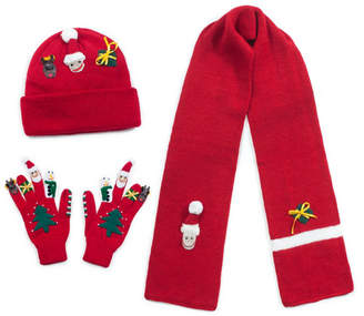 Kidorable Big Boys and Girls Xmas Knitwear Set