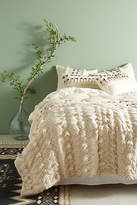 Anthropologie Tufted Pointilliste Quilt