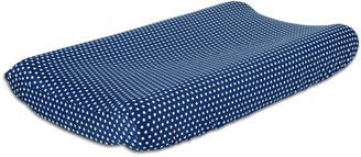 The Peanut Shell Doodle & Dot Changing Pad Cover