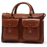 Ghurka Men's 'Examiner' Leather Briefcase - Metallic