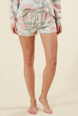 PJ Salvage Camo In Color Short Oatmeal M