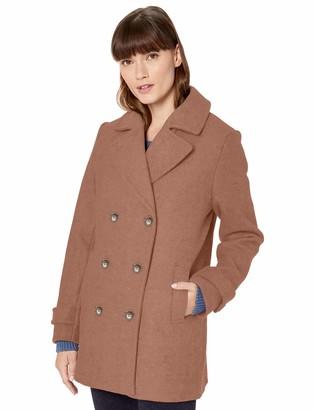 Amazon Essentials Plush Peacoat Wool Blend Coat