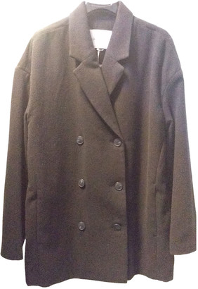 American Vintage Black Wool Coats