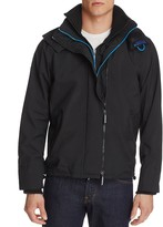 Superdry Nylon Hooded Zip Front Jacket