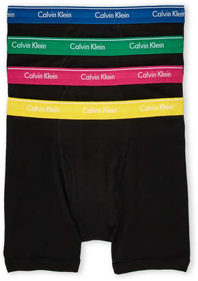 Calvin Klein 4-Pack Classic Fit Boxer Briefs