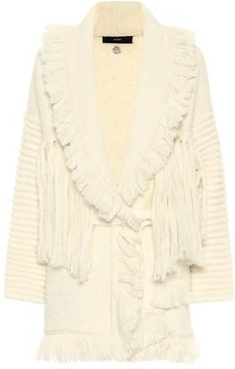Alanui Space Cowgirl wool and alpaca-blend cardigan