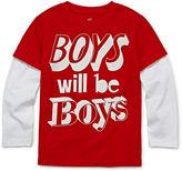 Okie Dokie Long-Sleeve Graphic Tee - Preschool Boys 4-7