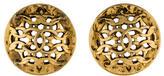 Chanel CC Dome Earrings