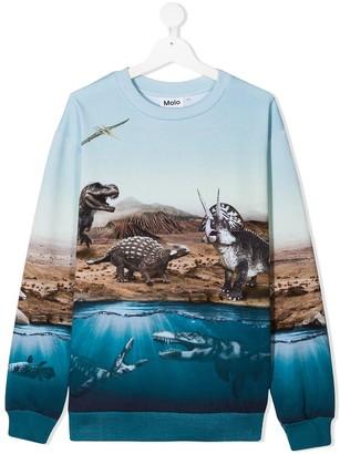 Molo Graphic-Print Cotton Sweatshirt