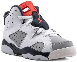Nike Kids Jordan 6 Retro high top sneakers