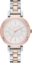 DKNY Women's Ellington Two-Tone Stainless-Steel Bracelet Watch 34mm NY2585