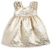 Laura Ashley Girls 2-6x Metallic Jacquard Dress