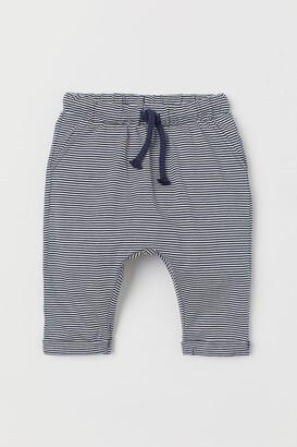 H&M Cotton Jersey Pants
