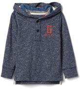 Gap New York logo pullover hoodie
