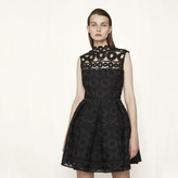 Maje Bonded lace guipure dress