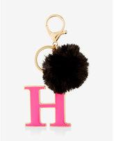Express ok originals h faux fur pom keychain and bag charm