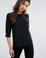 Oasis Wrap Back Shell Top