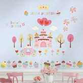 Bed Bath & Beyond Roomates Happy Cupcake Land Peel & Stick Wall Decals