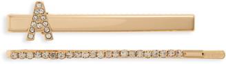 Tasha 2-Pack Crystal Salon Length Clips