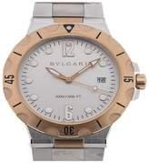 Bulgari Diagono Pro Automatic Date Silver Mens watch DP41WSPGSD