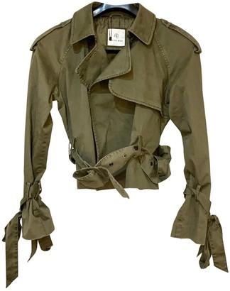 Anine Bing Fall Winter 2019 Green Cotton Jackets