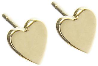 Jennifer Meyer Heart Stud Earrings