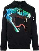 Marcelo Burlon County of Milan 'snake' print hoodie