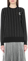 Christopher Kane Embellished-motif wool jumper