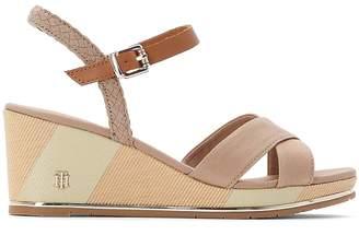 Tommy Hilfiger Estella 1D Wedge Heel Sandals with Sling-Back