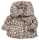 Hawke & Co Girls 2-6x Animal Print Puffer Coat